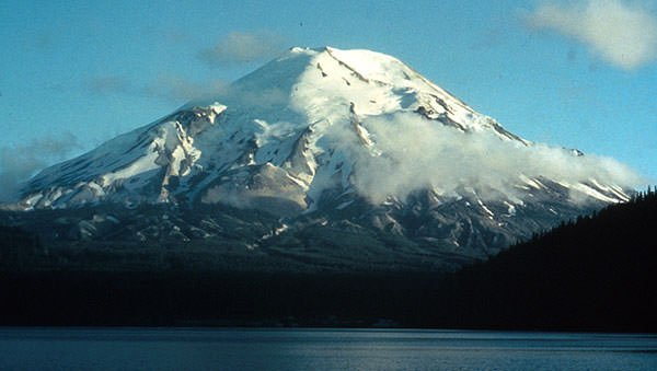 Mount St. Helens in 1973
