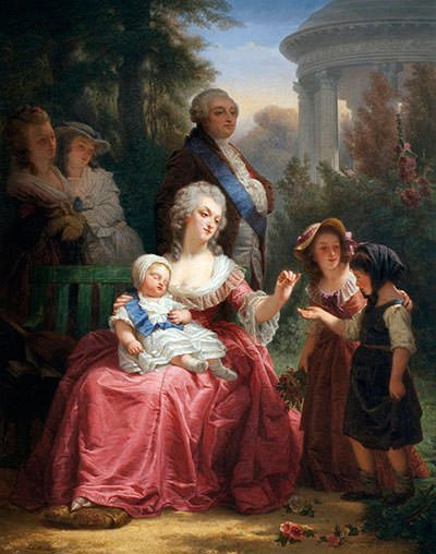 Louis XVI and Marie Antoinette