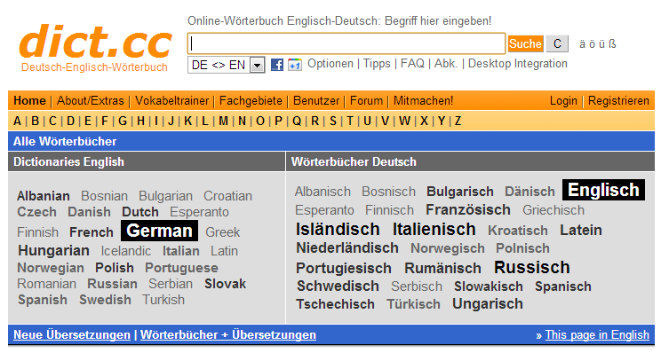 online free german dictionary