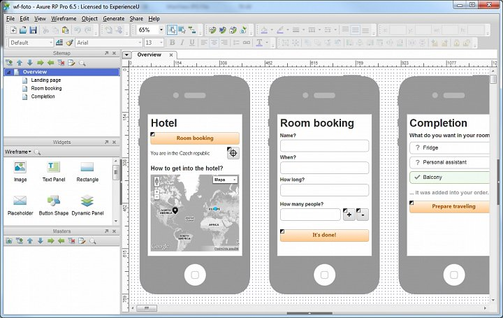 Interactive Prototype Design with Axure RP Pro Training Course in Kolkata