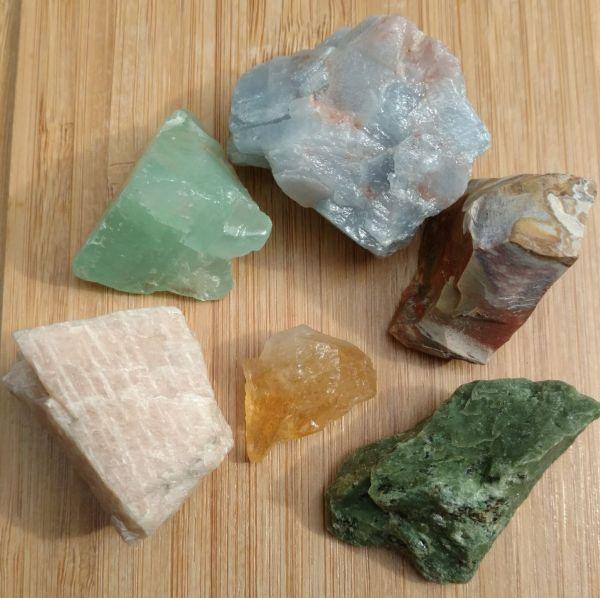 Winds of Change Reiki Charged Crystal Set