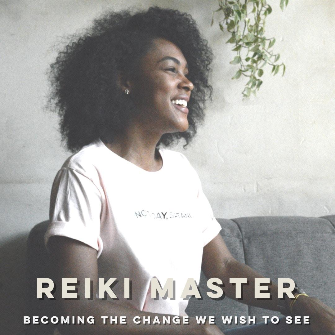 reiki master class image