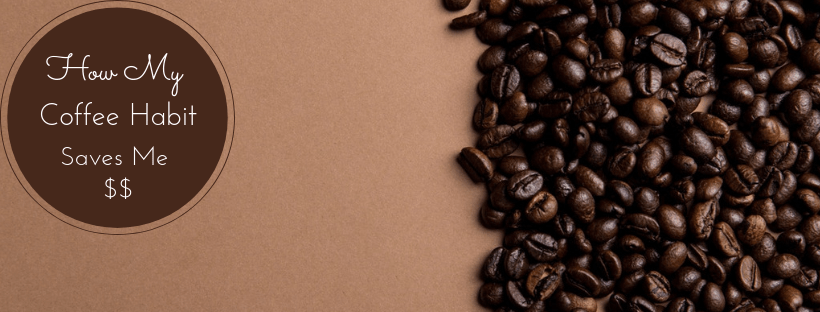 Coffee beans and title