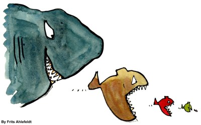 Big Fish vs Little Fish: How to Avoid Being Devoured by Giant Corporations