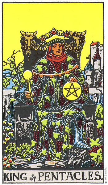 Image result for king of pentacles
