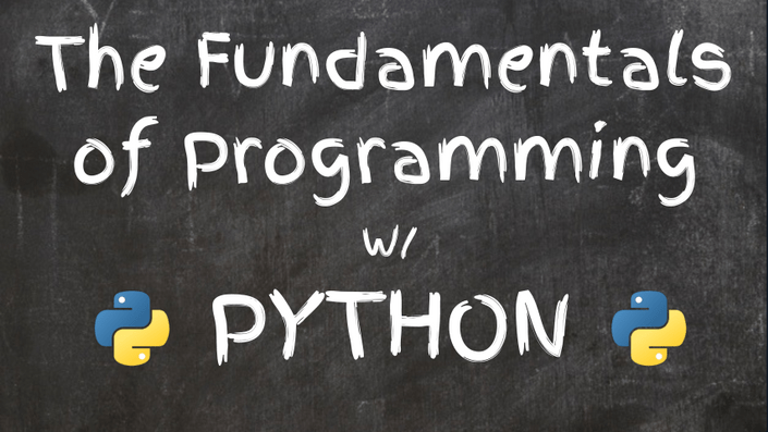 fundamentals of programming with python