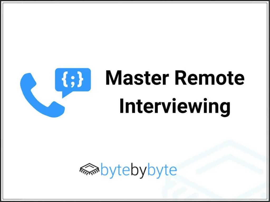 master remote interviewing