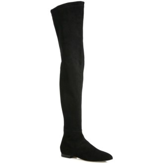 Brian Atwood Kacey Suede Over-The-Knee Boots