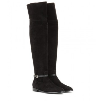 Burberry London Suede Over-the-Knee Boots