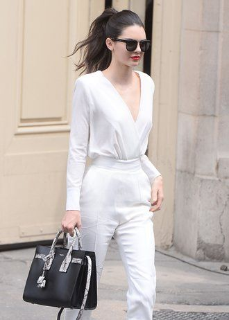 Total White, total chic.