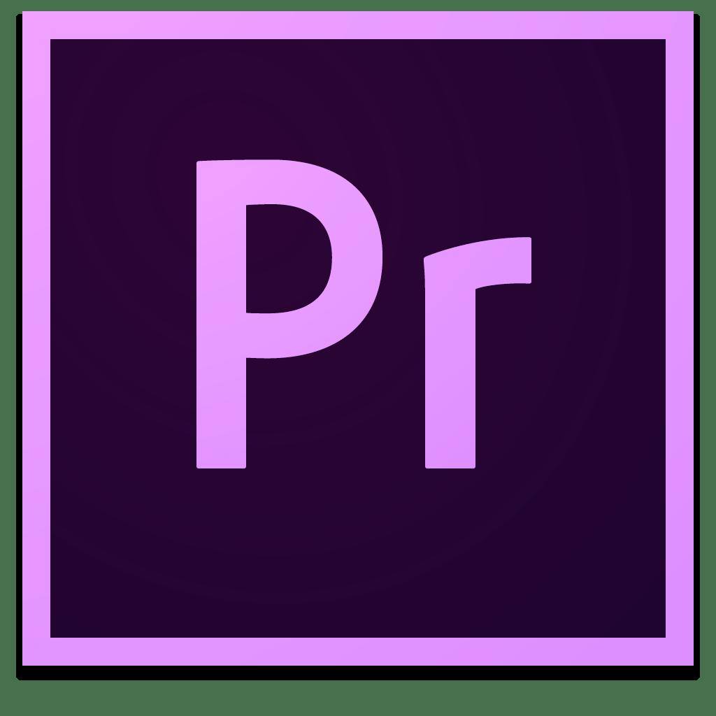 Premier pro ikon för kursen Adobe Premiere Pro