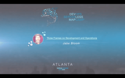 Three Frames on Development and Operations