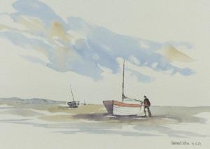 Pen and wash painting demonstration