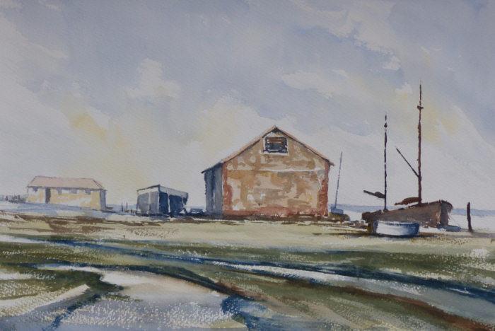 Thornham Harbour in the past