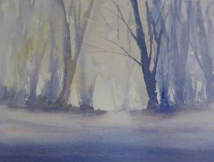 Sandringham Winter Trees