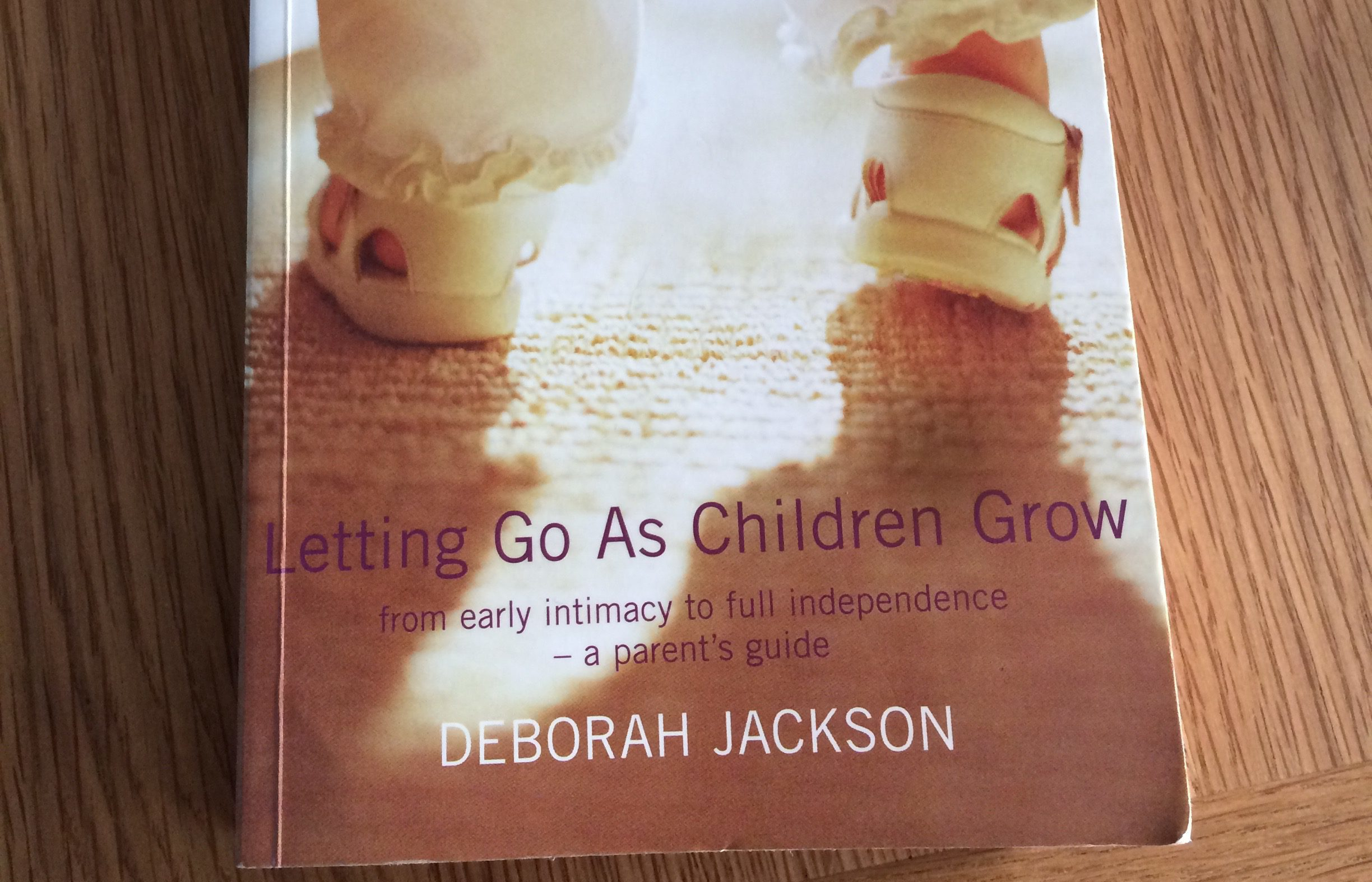 Letting Go As Children Grow, by Deborah Jackson
