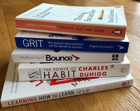 Books about learning and habits