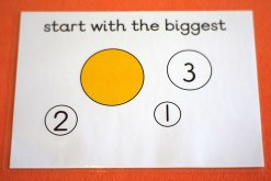 Adding strategy: start with the biggest number