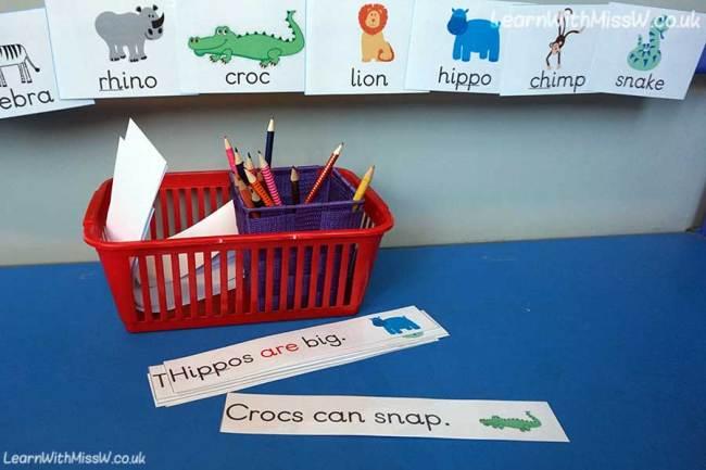 animal-sentences