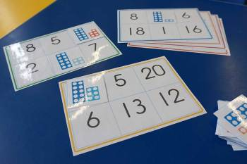 Numicon Bingo game