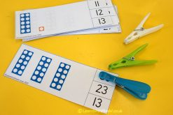 Numicon Count and Clip Cards