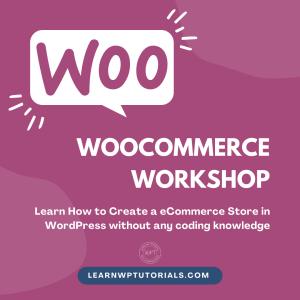 Woocommerce Workshop