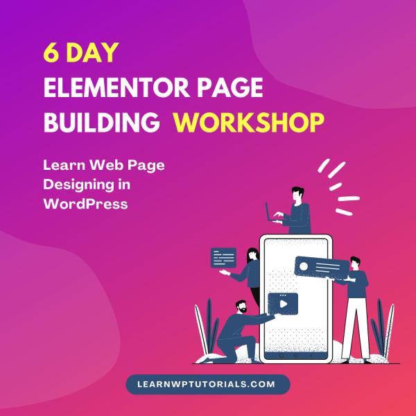 elementor workshop