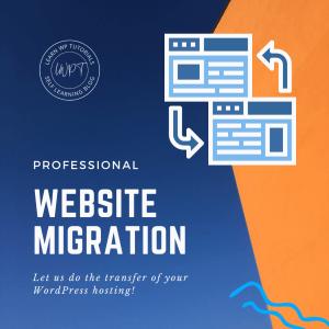 WordPress Website Migration Service