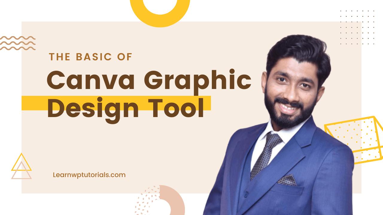 Canva Graphic Design Tool YouTube Thumbnail