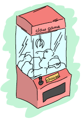 A claw game thing