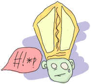 A pope shocked by profanities