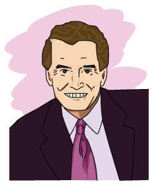A portrait of Regis Philbin