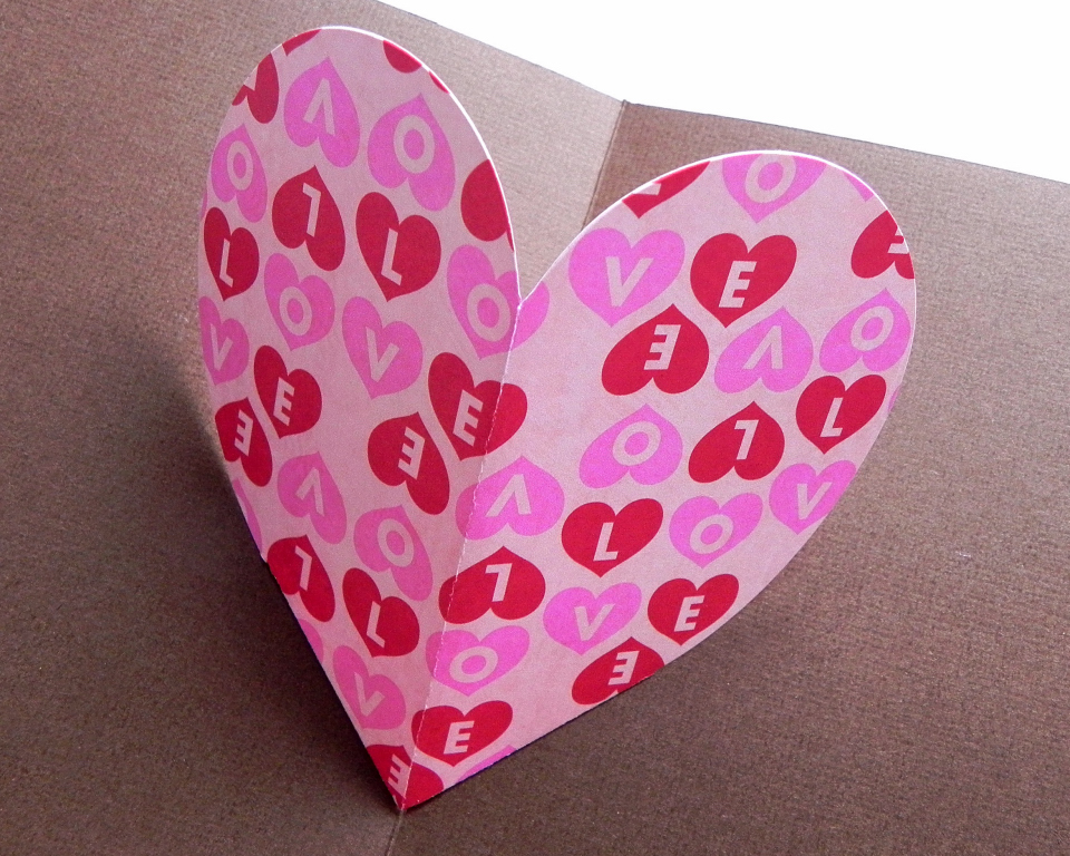 ~ Pop-up Heart Card Class (3/3)
