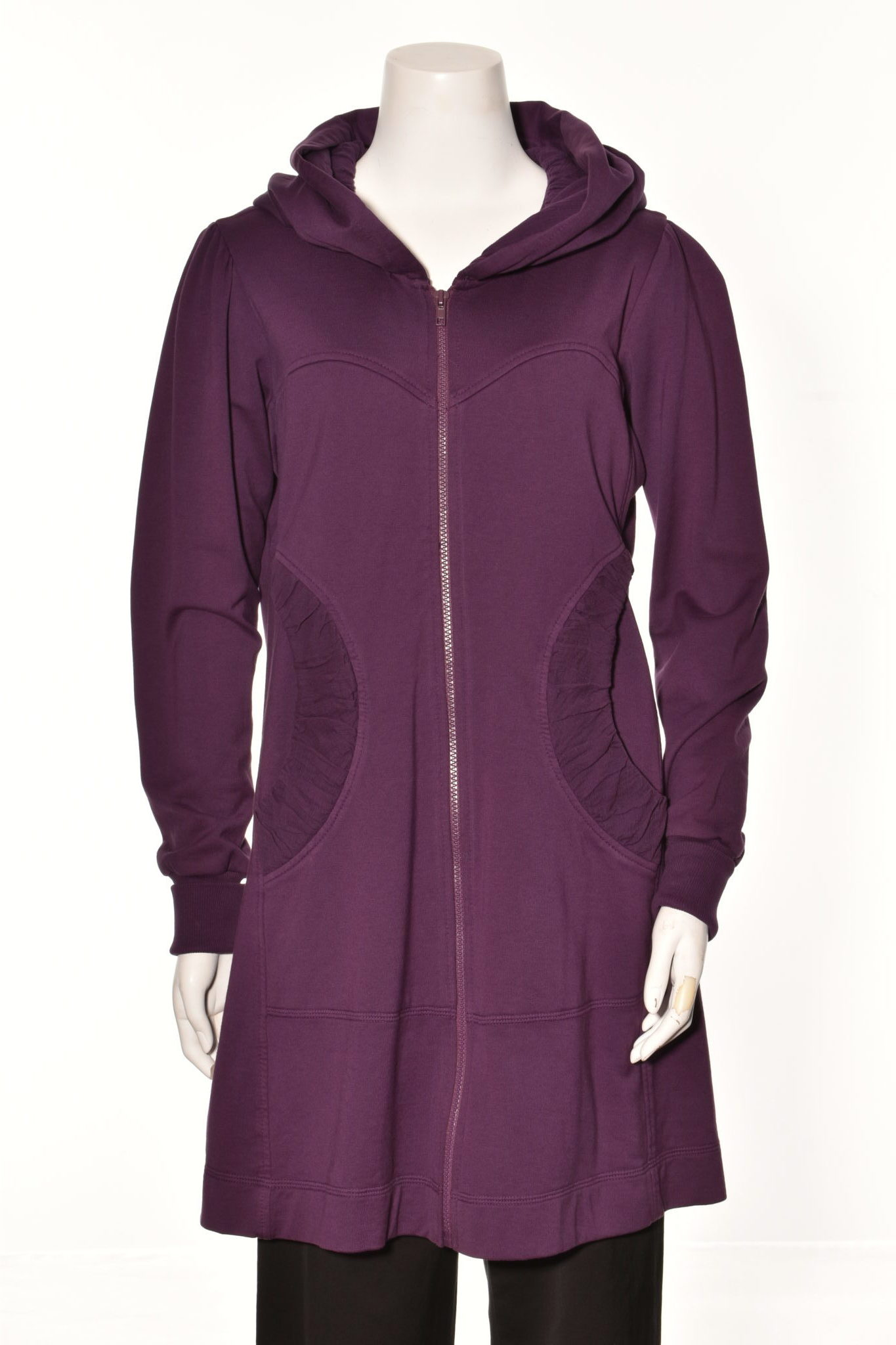 Color Me Cotton French Terry Jacket Hood
