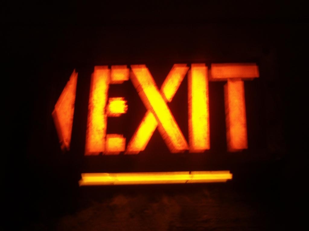 condo fire exit