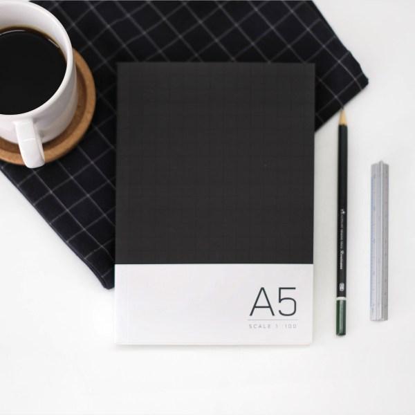 03 Sketchbook A5 Plain -Black onyx (2)