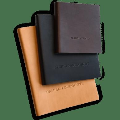 Leather Portfolio Cover