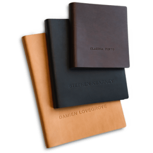Leather Portfolio Cover