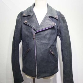 Chrome Hearts MOTO(ダークグレー・馬革) after