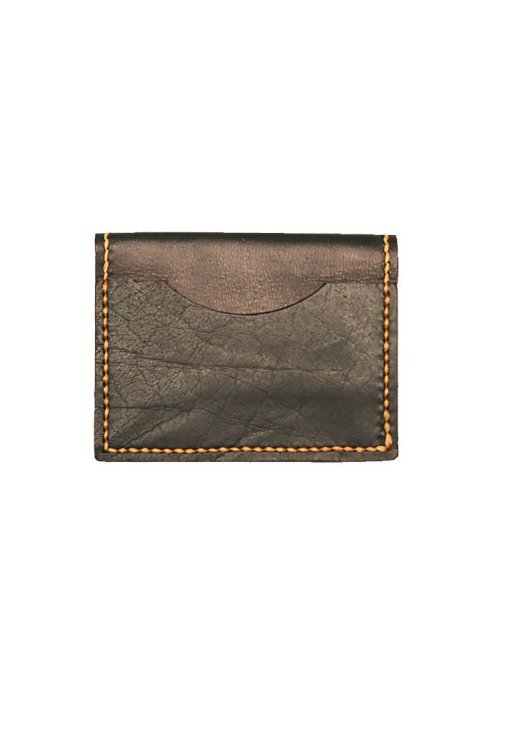 Leather.PH Travel Cardholder - Black