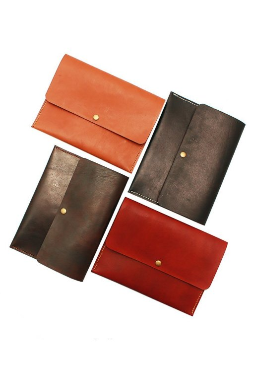 Leather.PH Travel Clutch