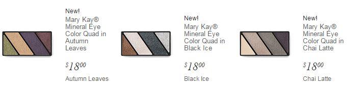 mayr kay holiday eye shadow quad palettes