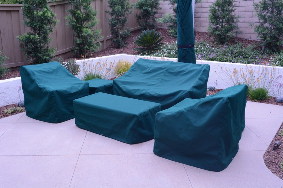 Custom covers for outdoor furniture.
