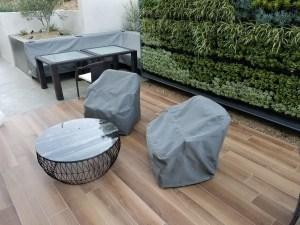 Custom Sunbrella Chair Covers