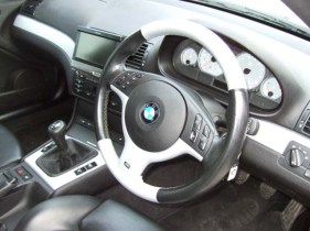 The stunning silver steering wheel re-installed.. Want yours to look this good?
