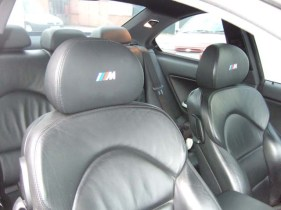Stunning... both headrests refitted.