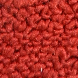 565 Deep Red Classic Restoration Loop Pile Carpet