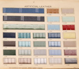 1960 OAIT Pg 17 Artificial Leather
