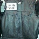 Vest with Gun Pocket