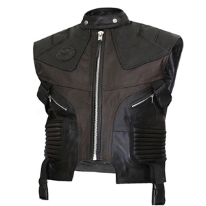 Bomber Style Waist Coat for Men